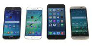 Video: Galaxy S6/S6 Edge vs. iPhone 6 Plus vs. One M9