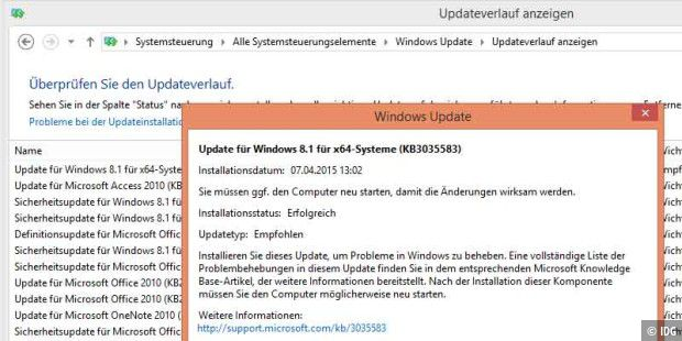 Dieses Windows-Update bereitet offenbar den Windows-10-Download vor
