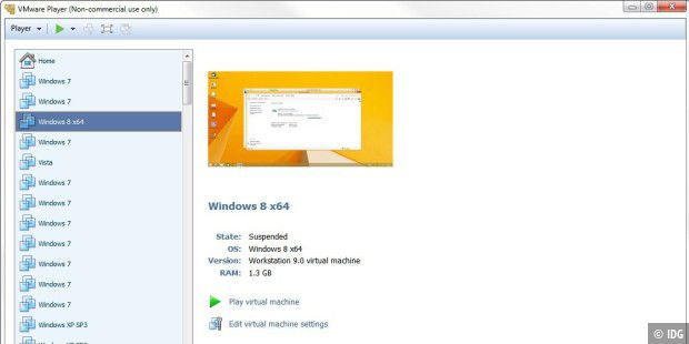 Windows in eine VMWare packen.