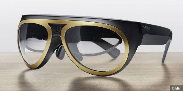 Mini Augmented Vision: Augmented Reality-Brille von BMW
