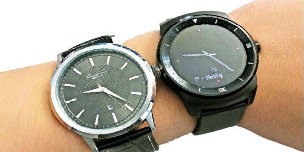 LG G Watch R mit Android Wear