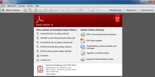 Adobe Acrobat Reader DC - Download