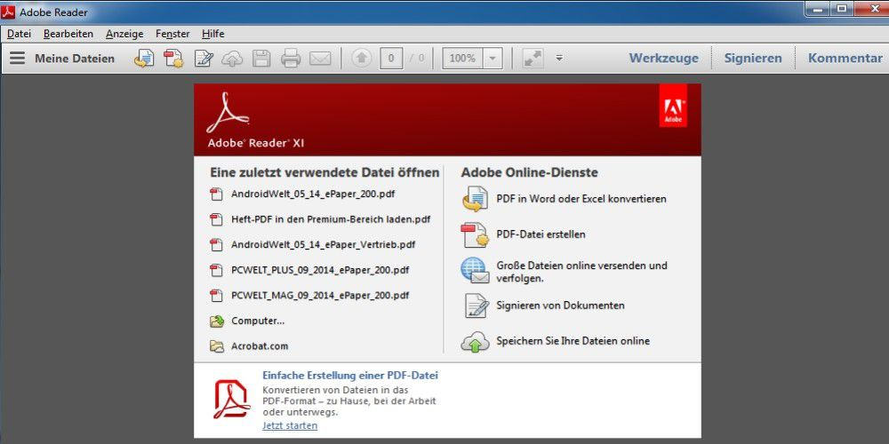 Download Adobe Acrobat Reader App For PC (Windows 7,8,10