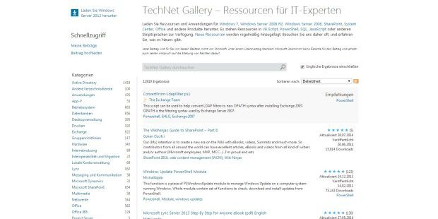 TechNet Gallery