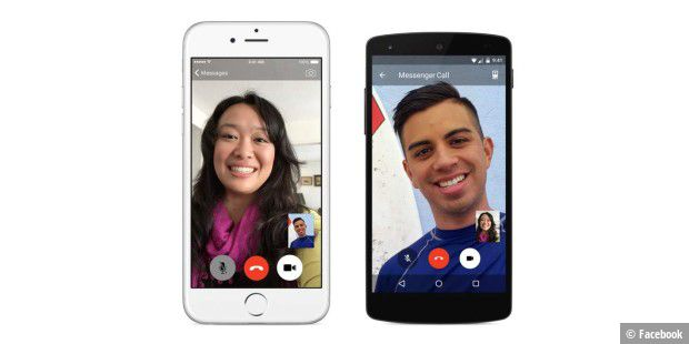 Facebook-Messenger bekommt Video-Chat