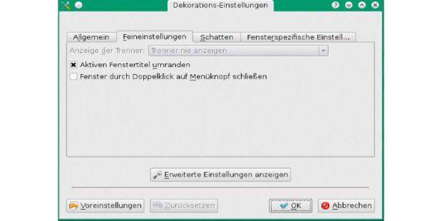 Sieben neue desktop optimierungen f r linux pc welt for Fenster immer im vordergrund
