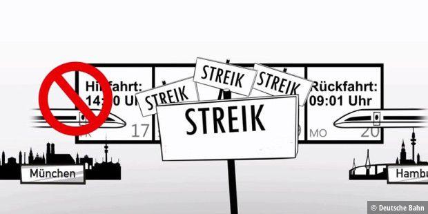 Ersatzfahrplan Db Streik