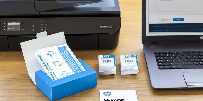 HP Officejet 5740 mit Instant Ink im Test - PC-WELT