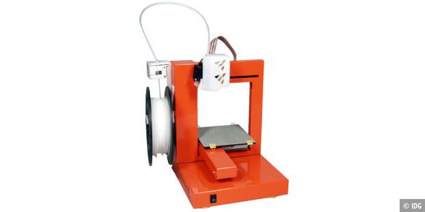 PC-WELT-Test des Up! Personal Portable 3D Printer