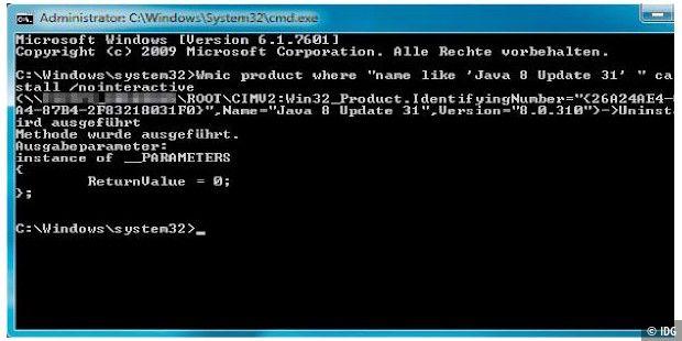Mit der Wmic exe arbeiten - PC-WELT