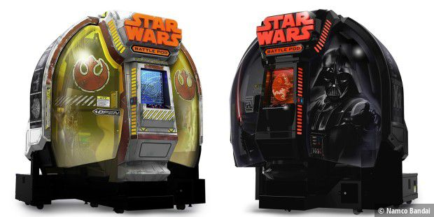 Die Premium-Edition des Star Wars Battle Pod kostet stolze 100.000 Dollar.