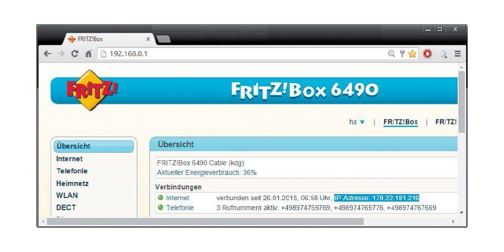 NAS-Server einrichten - aus dem Web erreichbar