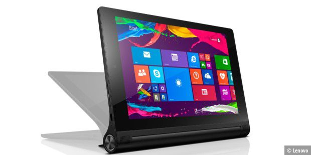 Mini-Tablet mit Windows 8,1 im Test: Lenovo Yoga Tablet 2 8