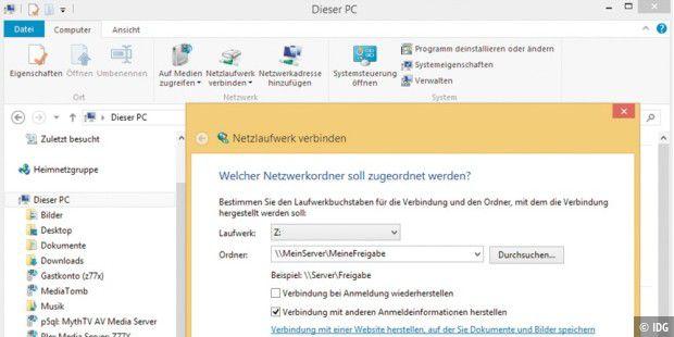 Netzlaufwerk per Batch-Datei verbinden - so geht's - PC-WELT