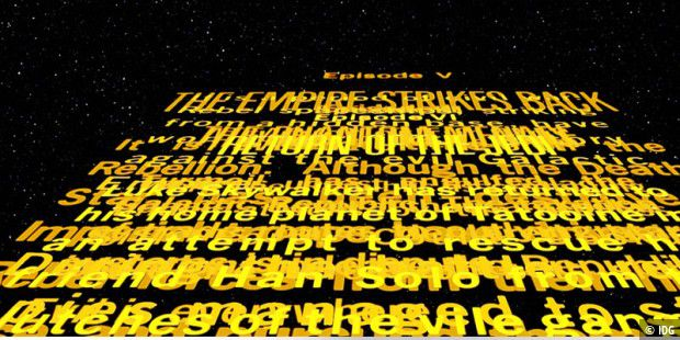 Star Wars - alle Teile in einem Youtube-Clip