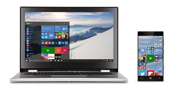 Windows 10 in 7 Editionen