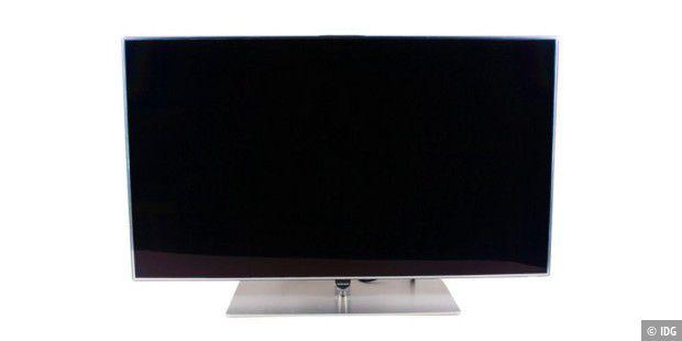 lcd tv samsung ue46f7090 im test pc welt. Black Bedroom Furniture Sets. Home Design Ideas