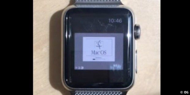 Macintosh OS läuft auf der Apple Watch