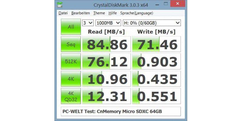 Beste Micro Sd Karte.Micro Sdxc Speicherkarten Mit 64 Gigabyte Im Test Pc Welt