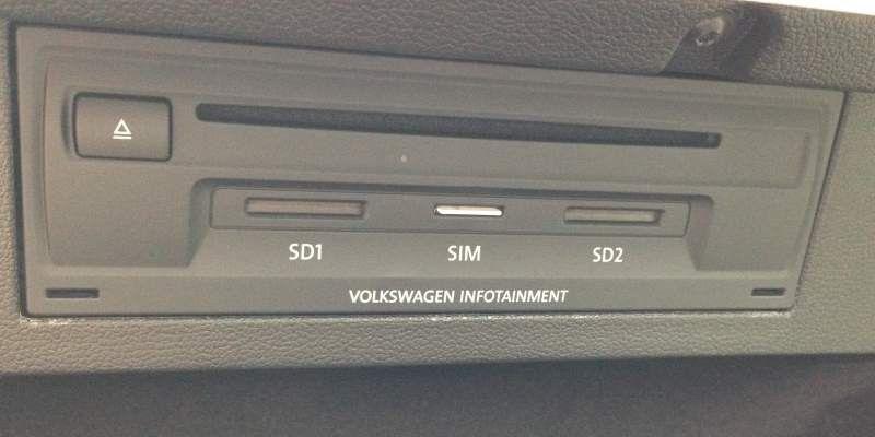 Test Discover Pro Active Info Display Car Net Im Vw Passat Pc Welt