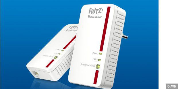 Powerline-Adapter von AVM im Test: Fritz!Powerline 1000E