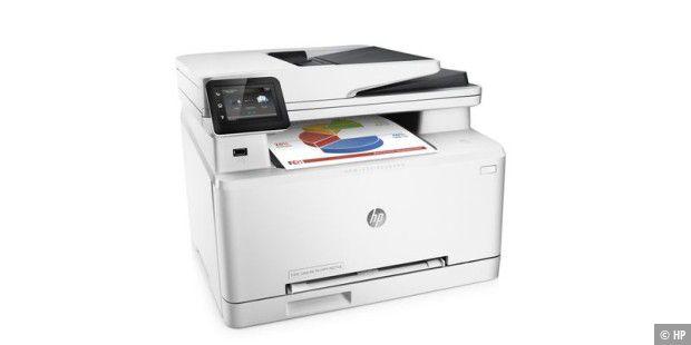 HP Color Laserjet Pro MFP M277dw im Test - PC-WELT