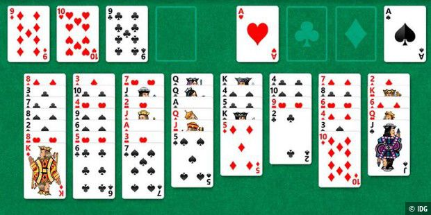Solitaire in Windows 10: Mit Werbung