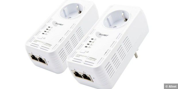 Gut ausgestatteter Powerline-Adapter mit MIMO-Technik im Test: Allnet ALL1681205