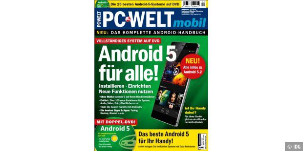 "PC-WELT mobil ""Android für alle!"""