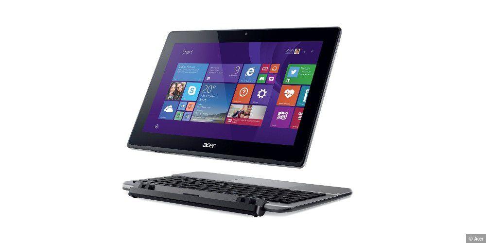 acer kombination aus notebook und tablet pc welt. Black Bedroom Furniture Sets. Home Design Ideas