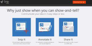 Microsoft Snip: Gratis-Screen- shot-Tool mit Sprachfunktion