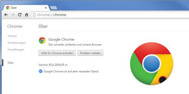 Chrome 45: Google schließt 29 Chrome-Lücken