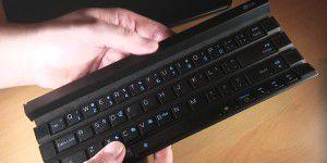 Video: Rollbare Tastatur LG Rolly - Hands-on