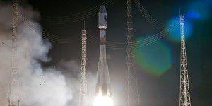 Sojus bringt zwei neue Galileo-Satelliten ins All