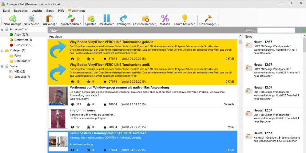 Cleveres Tool Verwaltet Ihre Ebay Kleinanzeigen Pc Welt