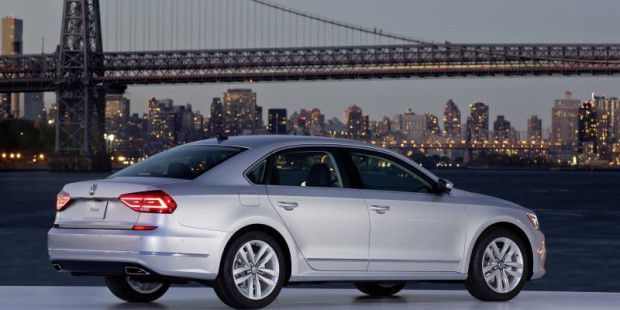 Weltpremiere des neuen US-Passat in Brooklyn, New York City, am 21. September 2015