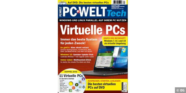 PC-WELT Tech: Virtuelle PCs