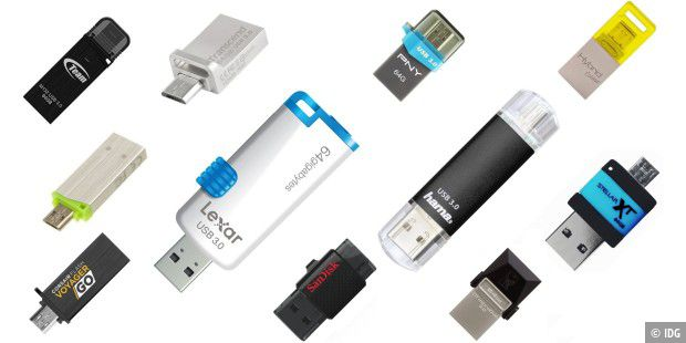 USB-Sticks On-The-Go (OTG) mit 64 Gigabyte im Test