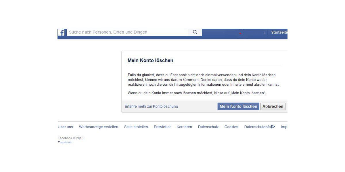 Facebook nachrichten endgültig löschen