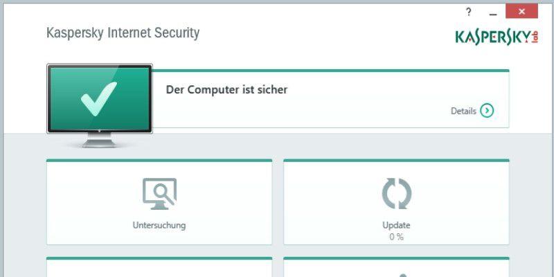kaspersky internet security testversion:
