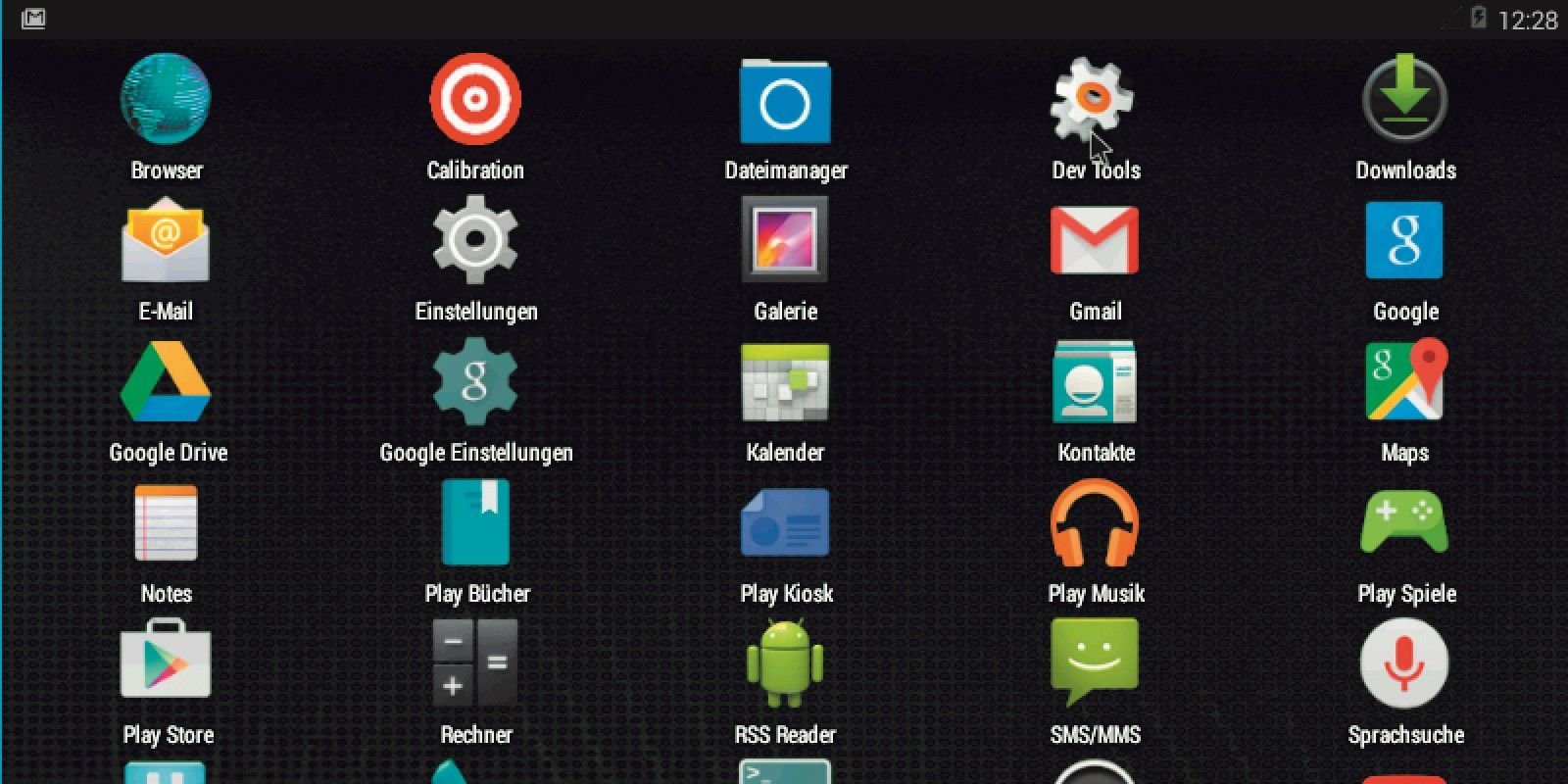 android x86 machine