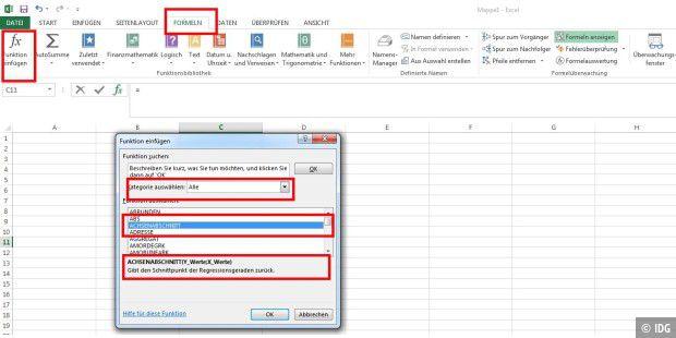 So rechnen Sie mit Excel-Funktionen - PC-WELT