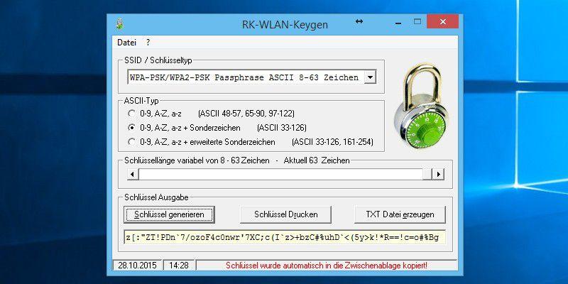 rk-wlan-keygen download