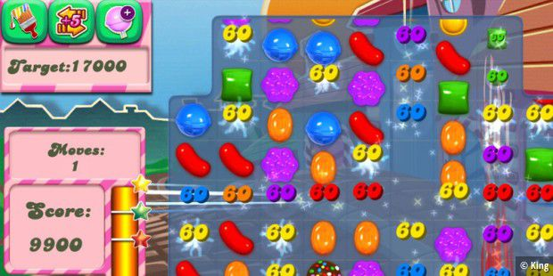 Candy Crush war ein großer Hit von King Digital Entertainment