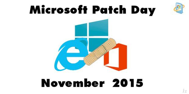 Patch-Day im November mit 12 Bulletins