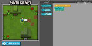 Microsoft: Programmieren lernen mit Minecraft