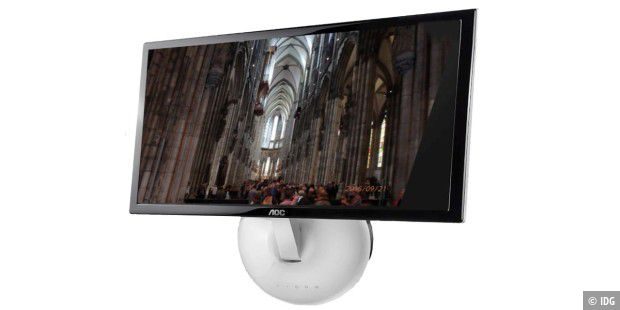flachbildfernseher wand hangen rahmen, digitalen bilderrahmen mit raspberry pi bauen - pc-welt, Design ideen