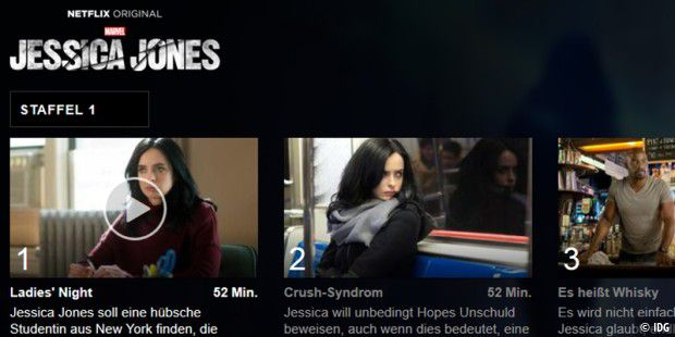 Highlight der Neflix-Neuzugänge im November 2015: Marvel´s Jessica Jones (Netflix Original)