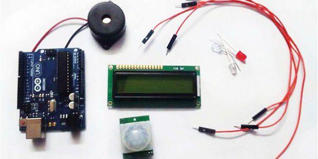 So basteln Sie sich eine Alarmanlage mit Arduino
