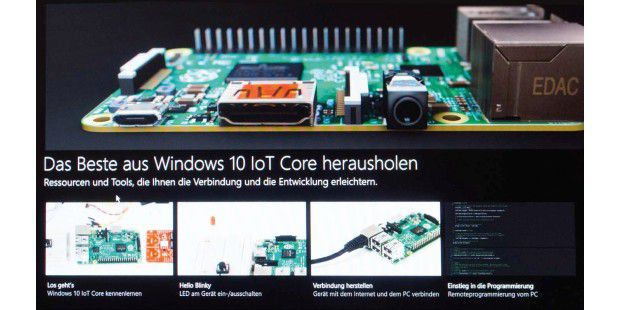 Raspberry Pi mit Windows 10: Die Kommandozentrale